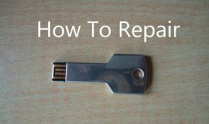 so reparieren Sie einen USB-Stick